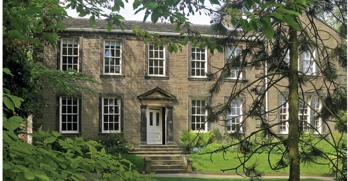 Haworth - Bronte Parsonage garden view