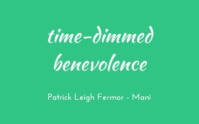 Time-dimmed benevolence