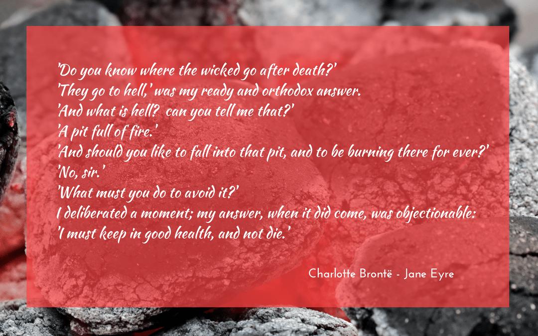 Charlotte Bronte - Jane Eyre - quotation