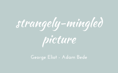 Strangely-mingled picture