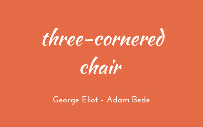 Three-cornered chair