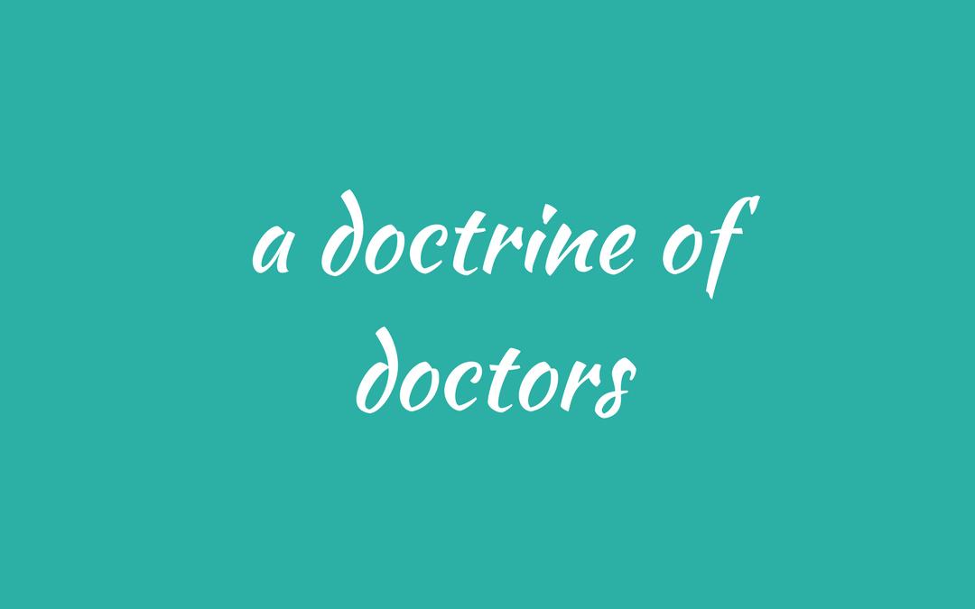 collective noun - doctors