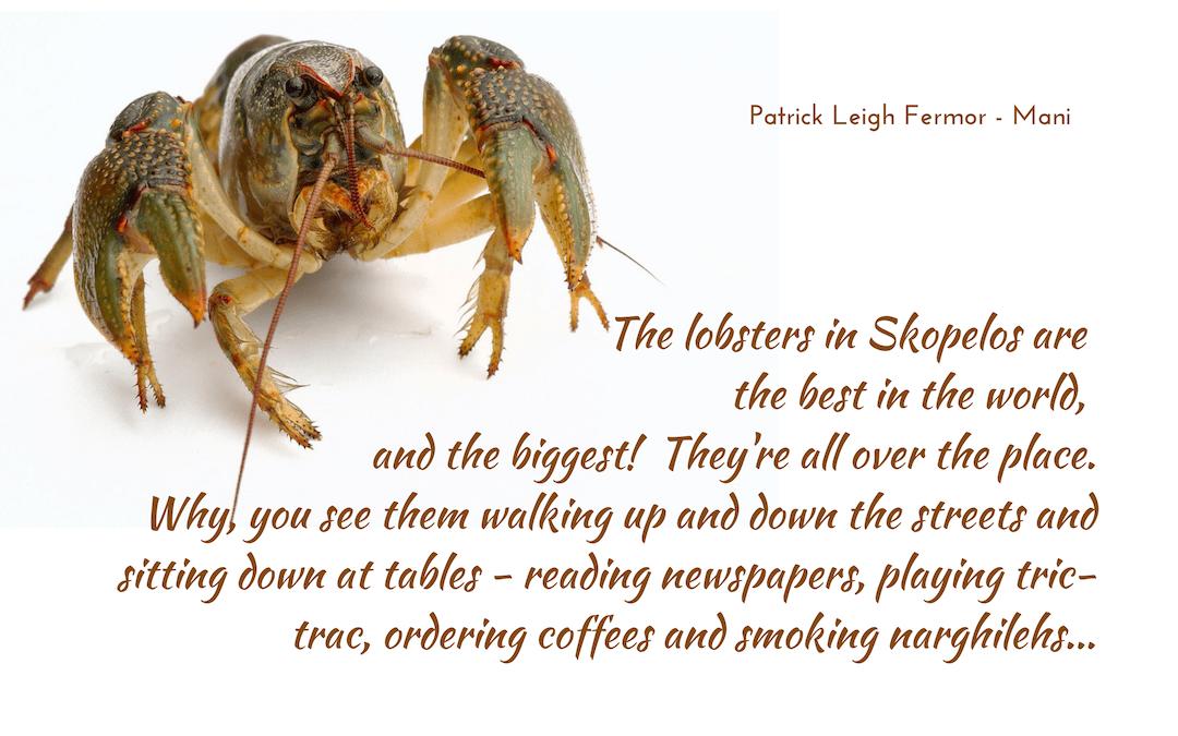 The lobsters of Skopelos