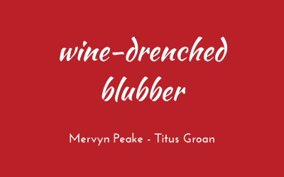 Wine-drenched blubber