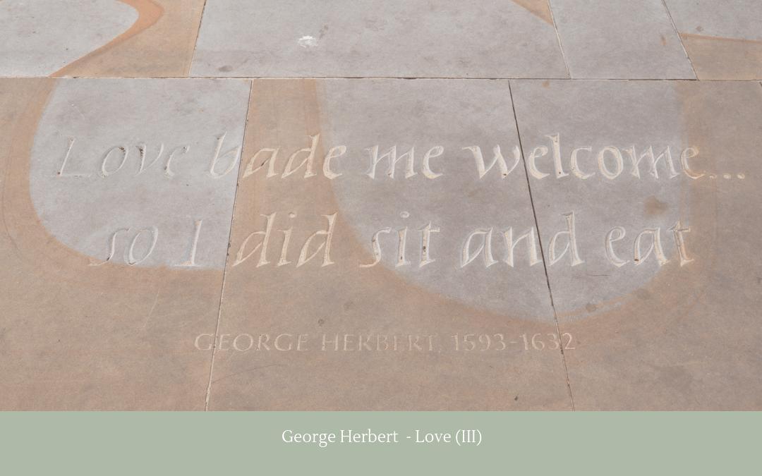 Quotation - George Herbert - Love III