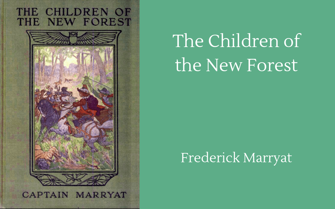Book cover Children of the New Forest Marryat