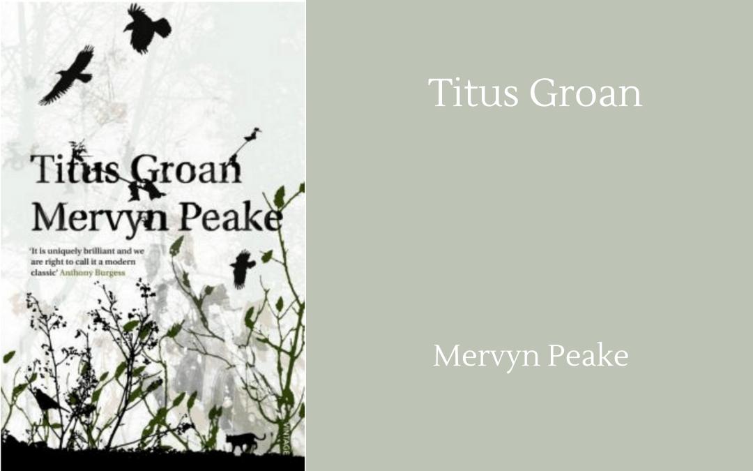 Book cover - Mervyn Peake - Titus Groan