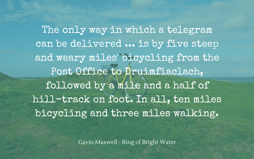 Quotation - Gavin Maxwell - Ring of Bright Water