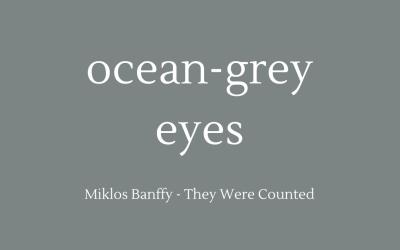 Ocean-grey eyes