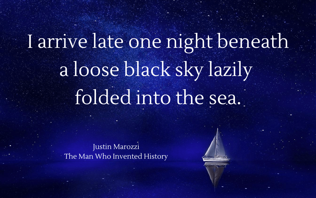 Quotation - Justin Marozzi - Man Who Invented History