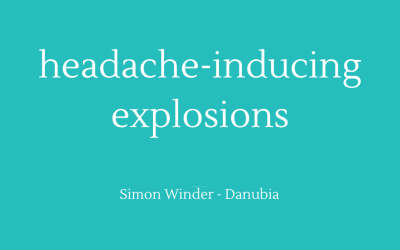 Headache-inducing explosions