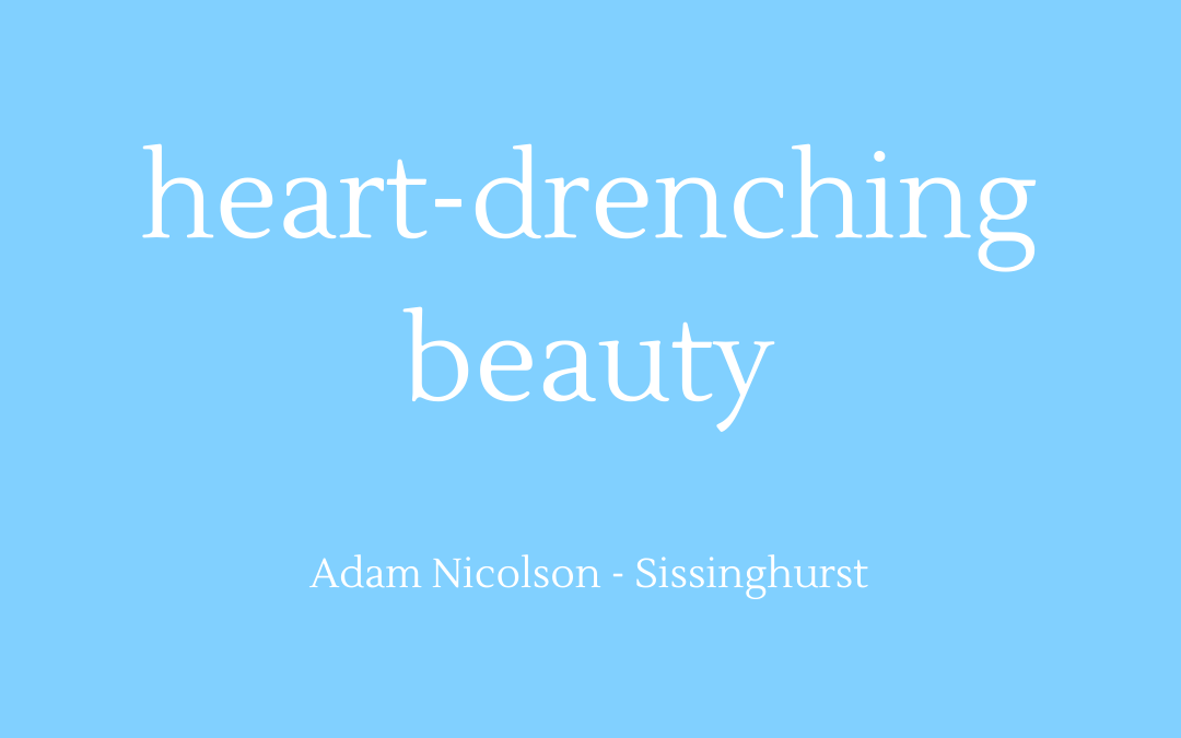 Heart-drenching beauty