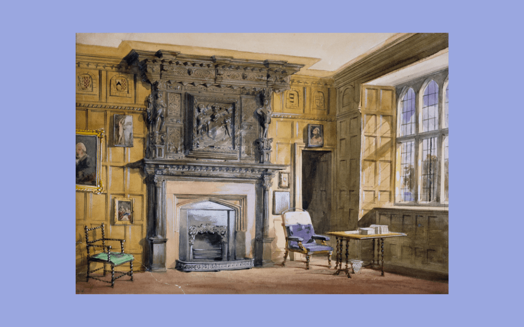 Image credit: Interior of Tamworth Castle (1839-82), Allen Edward Everitt (1824-82), courtesy Birmingham Museums Trust