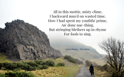 In this mottie, misty clime