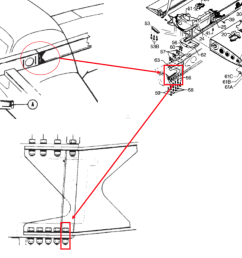 image 2 this ntsb graphic highlights the left wing assembly and attachment bolt for a piper pa 28r 201 the wing spar attachment bolt hole is an area of  [ 1508 x 1114 Pixel ]