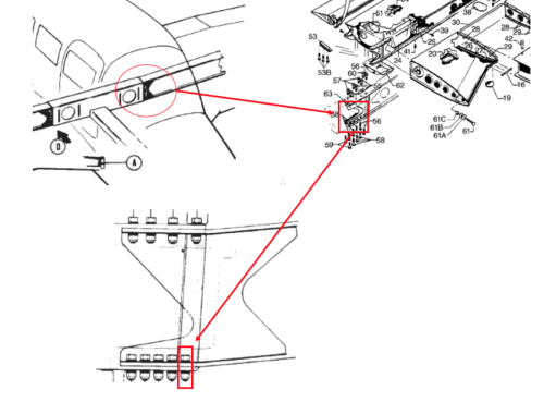 small resolution of image 2 this ntsb graphic highlights the left wing assembly and attachment bolt for a piper pa 28r 201 the wing spar attachment bolt hole is an area of