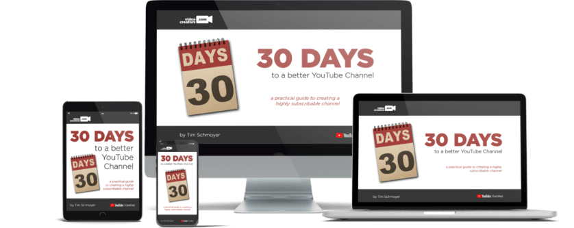 [GET] 30 Days To A Better YouTube Channel