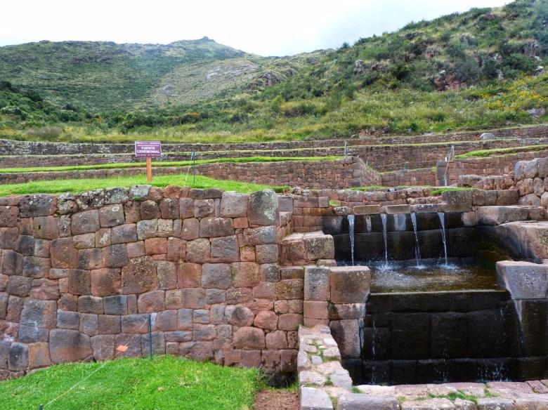 Tipon Cusco Peru