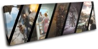 Fallout 4 Gameplay Gaming SINGLE CANVAS WALL ART Picture ...