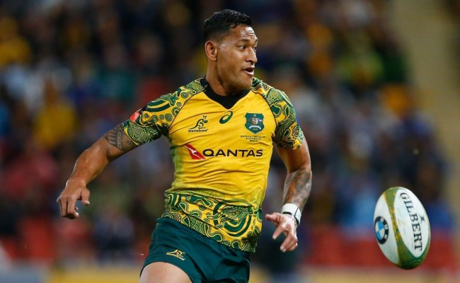 Israel Folau Pocketed A Pay Rise After His First Anti Gay
