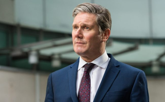 Keir Starmer Labour Leadership Favourite Is First To Back