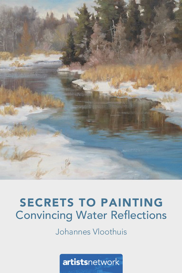 How To Paint Water Ripples : paint, water, ripples, Check, These, Secrets, Painting, Convincing, Water, Reflections