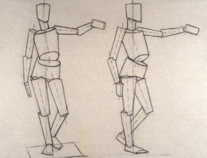 drawing basic draw human beginners using lessons cylinder simple figures drawings sketch artists tutorial sketches sketching anatomy techniques perspective geometric