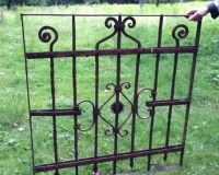Gartentor antik Schmiedeeisen, Tor oder Gitter fr den ...