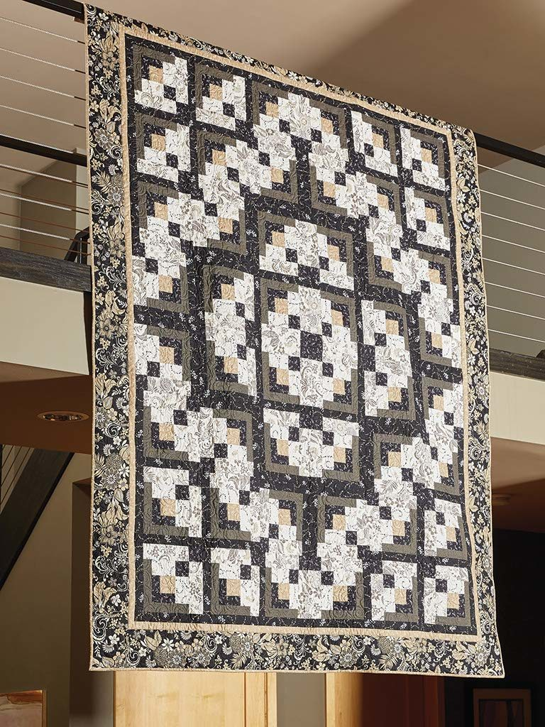 Black And White Quilt : black, white, quilt, Formal, Affair:, Black, White, Quilt, Pattern, Quilting, Daily