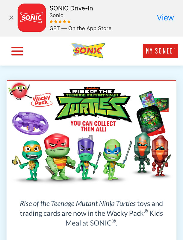 Sonic Ninja Turtle Toys : sonic, ninja, turtle, Sonic, Meals, Technodrome, Forums