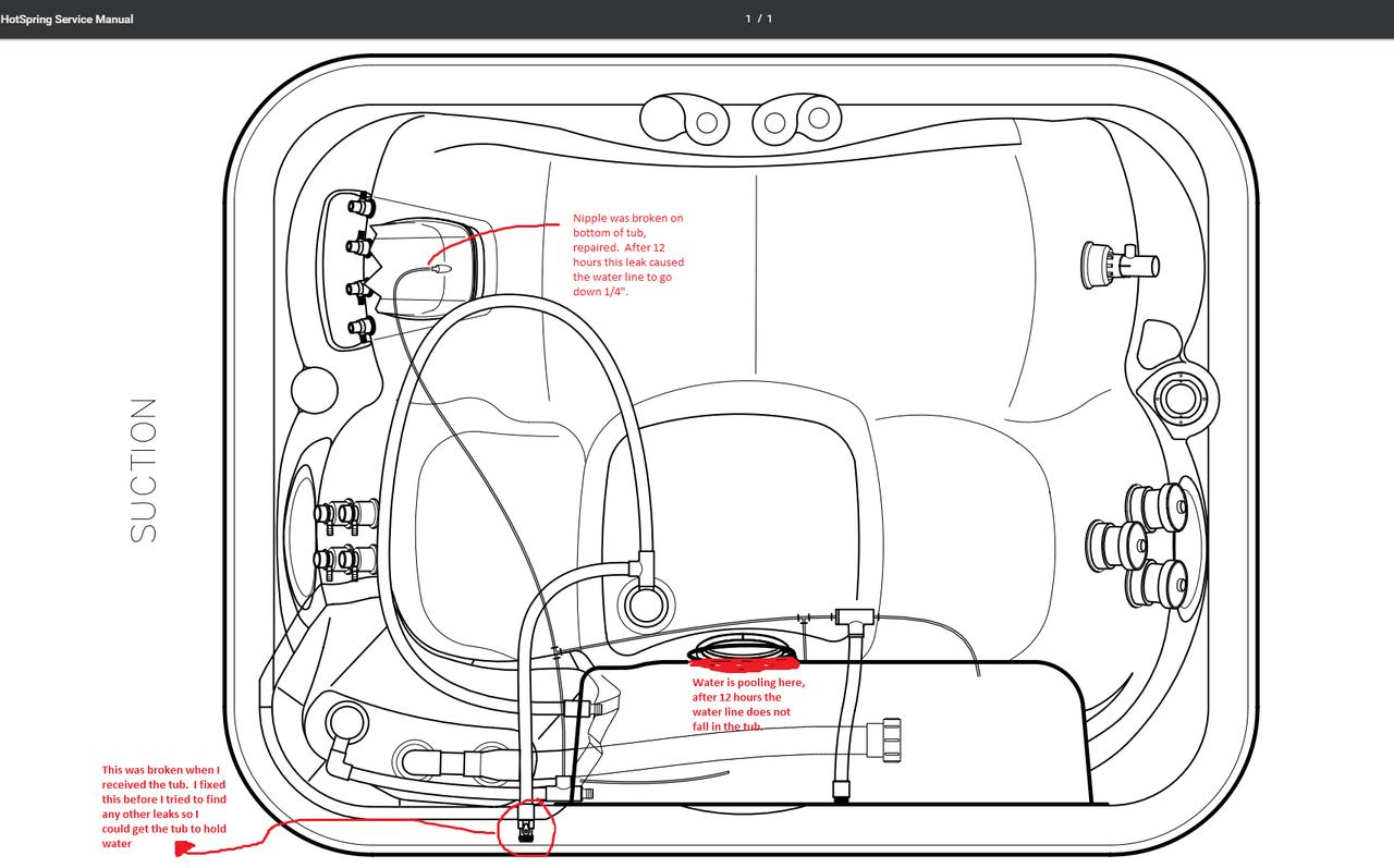 [DIAGRAM] Hot Springs Hot Tub Plumbing Diagram FULL