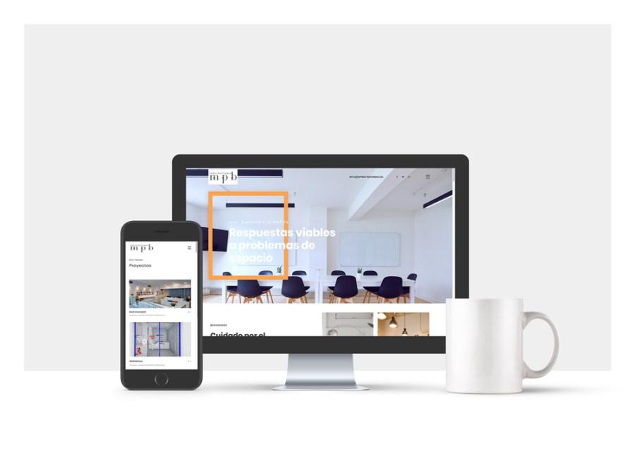 Diseño web de interiorismo visual merchandising