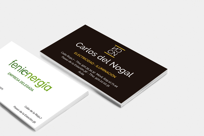 dosenar tarjetas para empresas