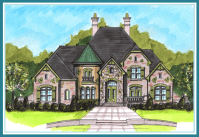 BoyeHomePlans - French Country Style Plan Search