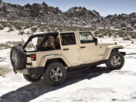 2011 Jeep Wrangler, czyli ze zwierzakiem w teren