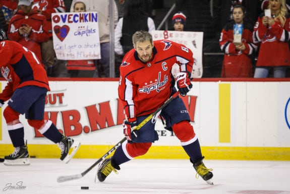 Alex Ovechkin Washington Capitals