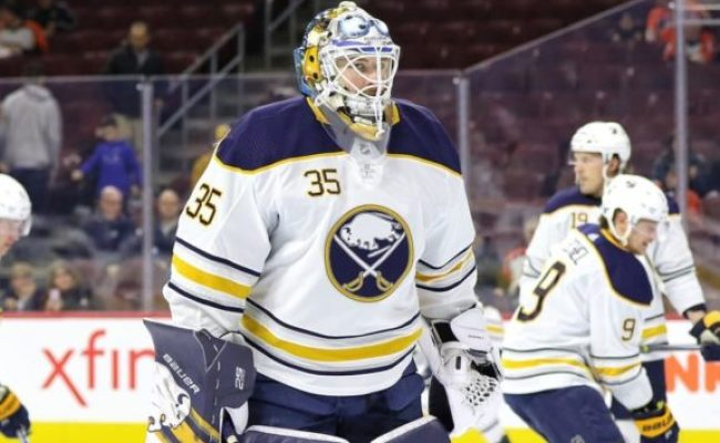 Ullmark Makes 41 Saves Sabres Beat Red Wings 2 0