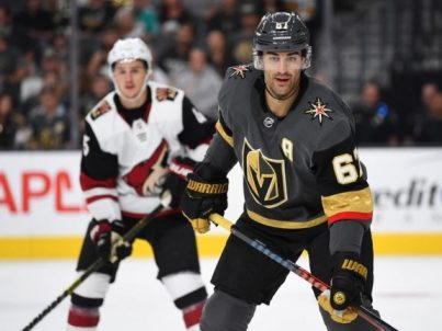 Vegas Golden Knights forward Max Pacioretty