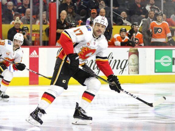 Milan Lucic Calgary Flames