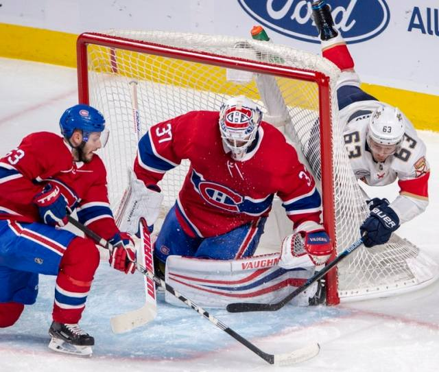 Canadiens Control Panthers Niemi Makes 52 Saves Montreal Canadiens Logo