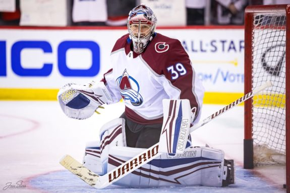 Pavel Francouz Colorado Avalanche