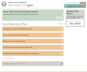 The FTC's Identity Theft website offers easy-to-use tools to help victims. FTC Photo