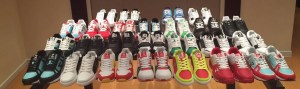 Stephon Marbury's Twitter picture of his Starbury samples.