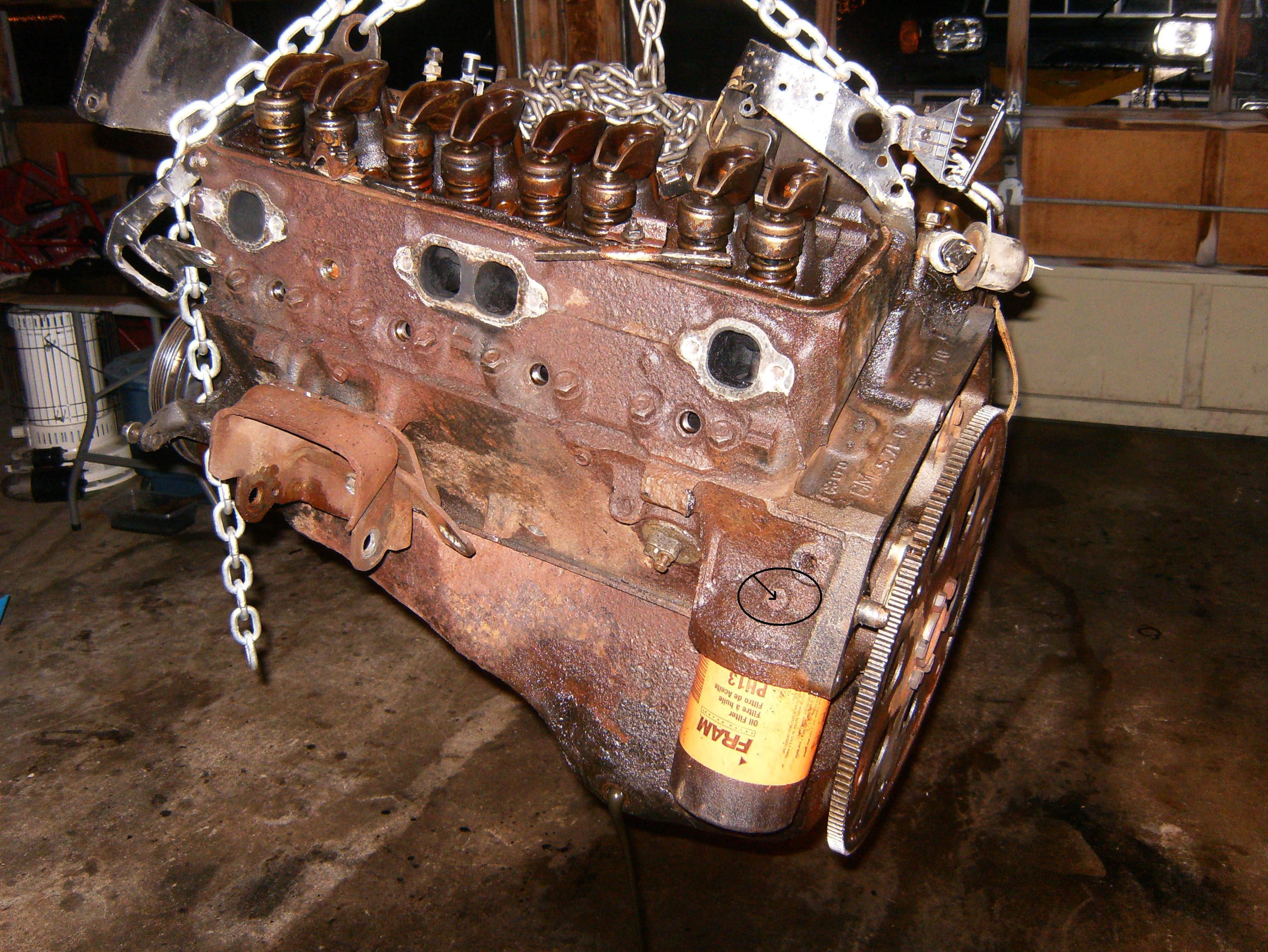 chevy 350 oil filter circuit breaker wiring diagram house blown external fittings 001