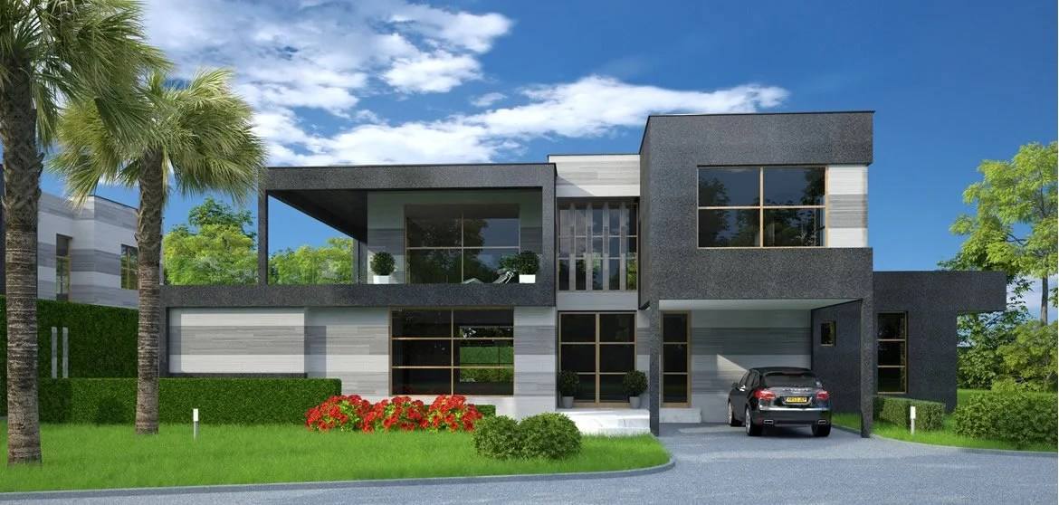 Modern contemporary houses In Malawi | House design with Floor plans ...