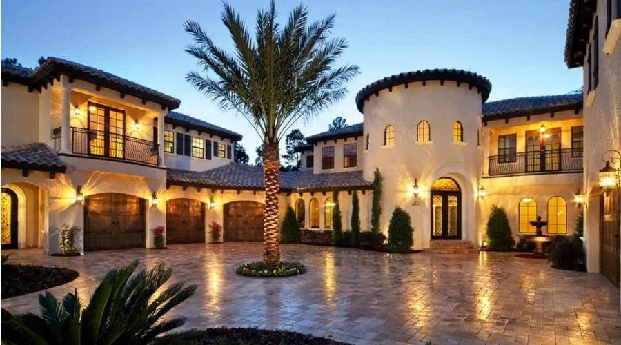 Home architectural style - Mediterranean Style house