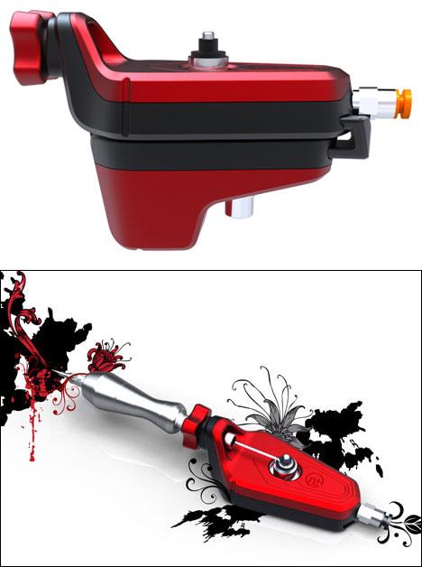 Stunning tattoo gun
