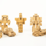 Woobots Transformer Robots Made Entirely From Wood Core77