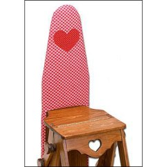 Chair Step Stool Ironing Board White Plastic Lounge Chairs That Start With A B The Bachelor S Core77 If You Want To Build Your Own We Question Their Repetitive Use Of Heart Motif Though Perhaps Meant Be Hopeful It Just Comes Off As Sad