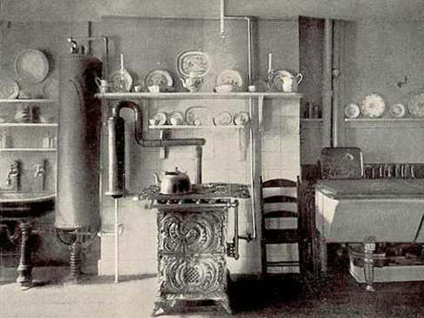 A Brief History Of Kitchen Design Part 2 Gas & Water Core77